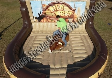 Mechanical Bull Rental with Western Ring