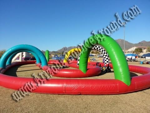 Mega Inflatable Race Track Rental