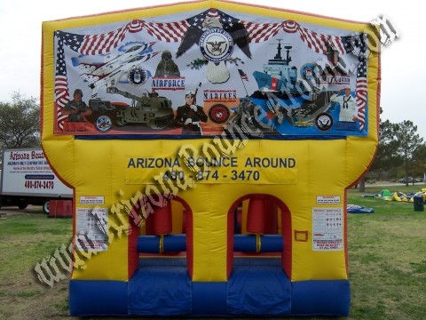 30' CYT Military Obstacle Course rental
