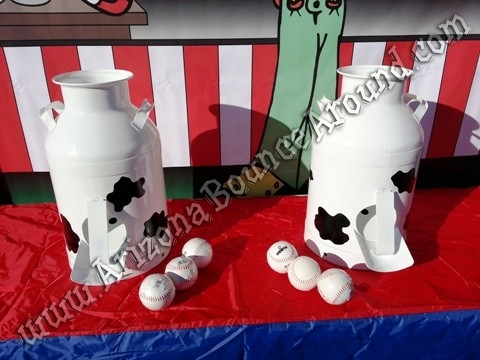Milk Can Carnival Game Rental