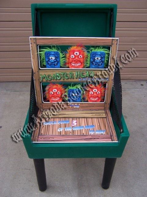 Monster Knock Down Carnival Game Rental