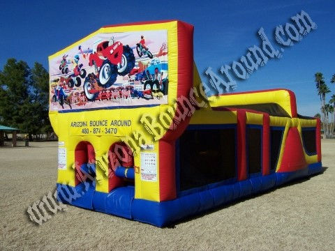 30' CYT Monster Truck Obstacle Course Rental
