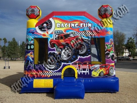 Cars Bounce Houses Bouncing House With 14'