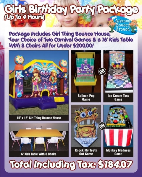 Party Packages for Girls Under $200
