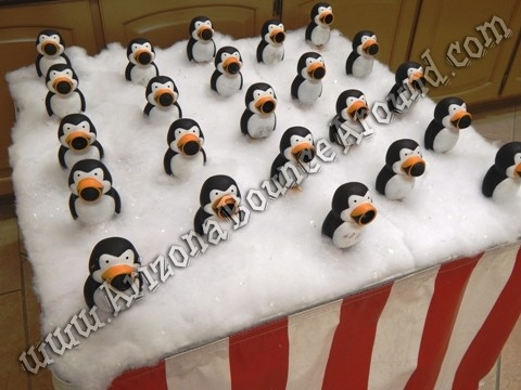 Penguin Ring Toss Game - 24 Penguins