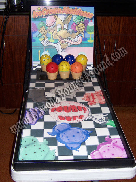 Ice Cream Toss carnival game rental