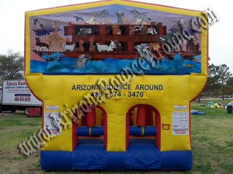 30' CYT Noahs Ark Obstacle Course Rental