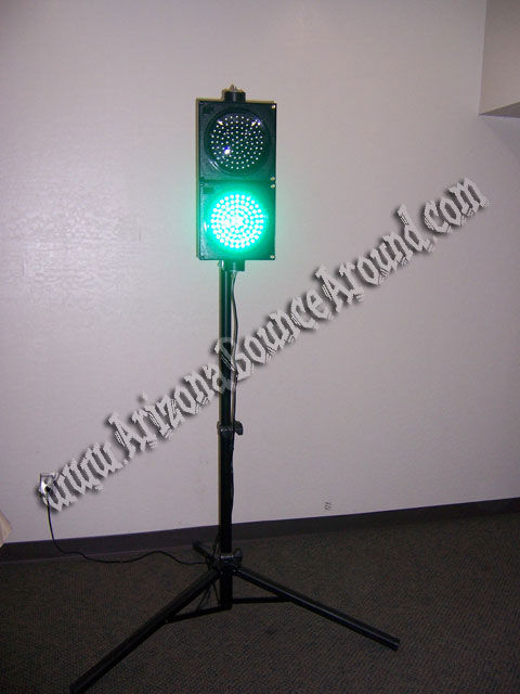 Wireless Stop & Go Light Rental with Stand