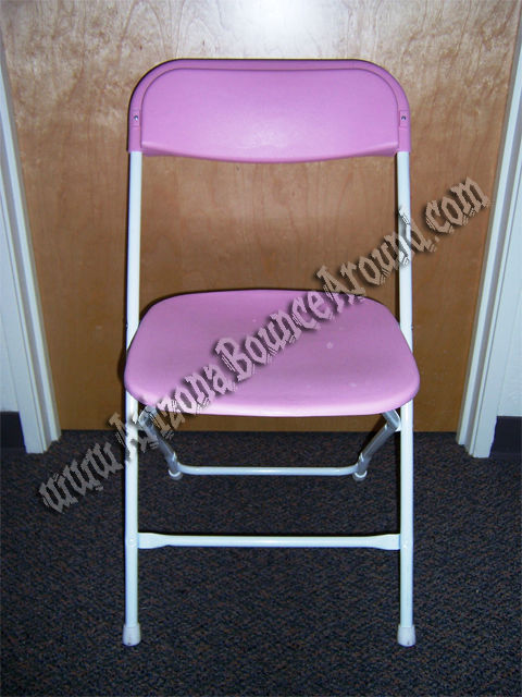 Pink Plastic Folding Chair Rental