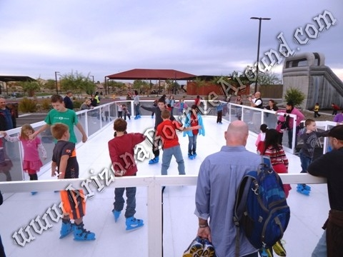 Portable Ice Skating Rink Rental