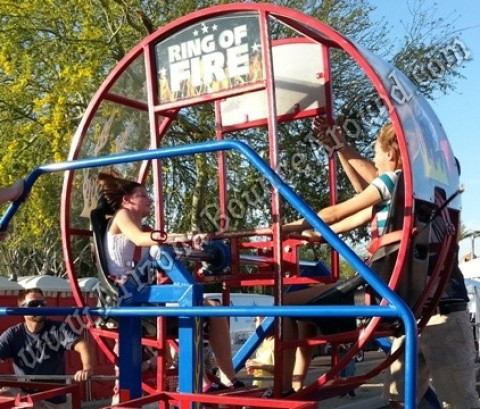 Ring Of Fire Carnival Ride Rental