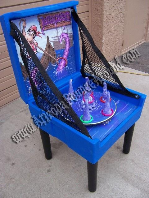 Spinning Kraken Ring Toss Carnival Game