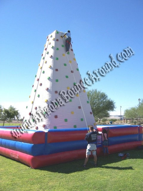 26' Tall Inflatable Climbing Rock wall Mountain Rental