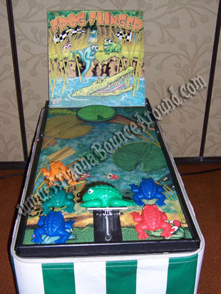 Frog Flinger carnival game Rental