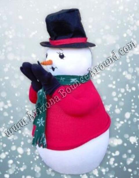 Snowman Snow Blowing Machine Rental