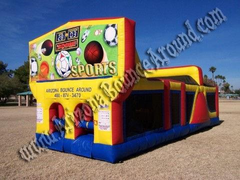 30' CYT Sports Obstacle Course Rental