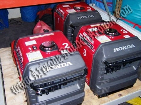 Rent Honda EU3000is Super Quiet Generators In Phoenix, Scottsdale, Arizona