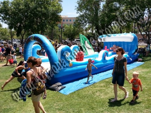Surf the Wave Duel Lane Slip n Slide Rental