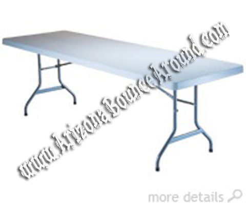 8 Foot Rectangle Table Rental