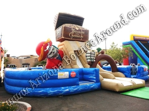Treasure of the Caribbean Obstacle Course Rental