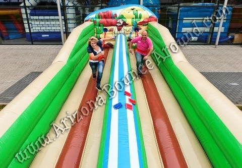 Western Themed Bungee Run Rental