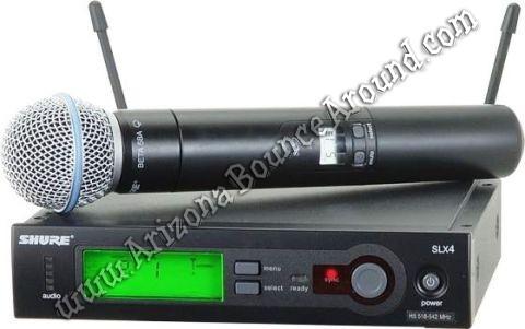 Wireless Microphone Rental