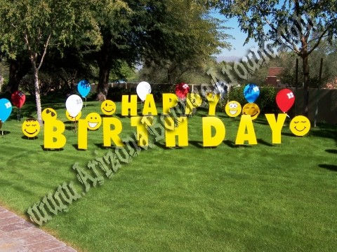 Yard Party Sign Rental