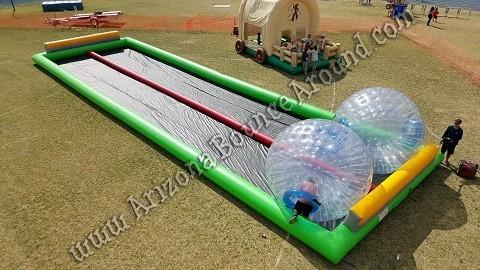 Zorb Ball Race Track