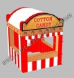 10 x 10 Inflatable Cotton Candy Concession Stand rental Phoenix Arizona