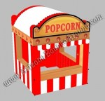 10 x 10 Inflatable Popcorn Concession Stand