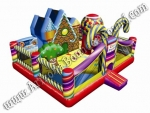 Inflatable Candy Land Playland Rentals in Phoenix Arizona