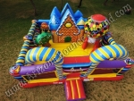 Gingerbread House Bounce House Rental Scottsdale Arizona
