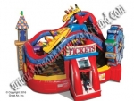 Carnival themed Bounce House Rentals Phoenix Arizona