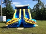 19' Dual Lane Wipe Out Water Slide Rental - Phoenix, Scottsdale, Tempe, AZ