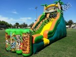 Luau themed water slide rental Phoenix AZ
