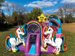 Unicorn Inflatable Playland Rental Phoenix, Arizona, Denver Colorado
