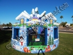Christmas themed Bounce House Rental Phoenix