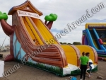 Inflatable tree house slide rental Phoenix Arizona