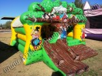 Inflatable Tree House Bouncy Castle