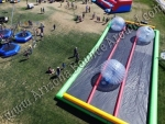 3 lane zorb ball track rental Phoenix