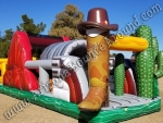 Western themed obstacle course rental Phoenix Arizona