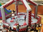 Ninja Warrior Wrecking Ball Game Rental Phoenix Arizona