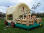 Cowboy Western Themed Bounce House Phoenix