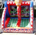 Inflatable football throwing game rental Phoenix Arizona