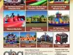 Spring or Fall carnival rental Party Package C15 Phoenix Arizona