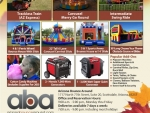 Spring and Fall carnival party Party Package rentals in Phoenix Arizona