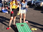 Football Themed Corn Hole Games for rent in Phoenix, Scottsdale Arizona