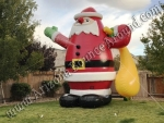 Giant Inflatable santa claus rentals Phoenix Arizona