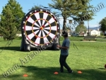 Inflatable foot darts game rental Phoenix Arizona