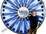 Giant Prize Wheel Rental Phoenix, Scottsdale, Tempe Arizona - LED Prize Wheel Rentals